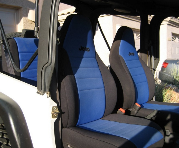 jeep with neoprene seats