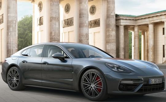 Working on improvements of Porsche Panamera